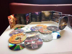 Vzorky tisku CD